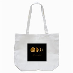 Moon Child Tote Bag (white) by Valentinaart