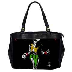 Joker  Office Handbags (2 Sides)  by Valentinaart