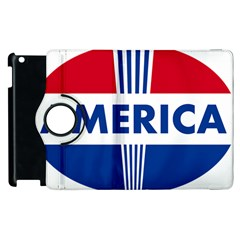 America 1769750 1280 Apple Ipad 2 Flip 360 Case by Colorfulart23