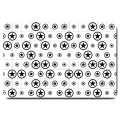 Army Stars Large Doormat  by linceazul