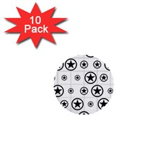Army Stars 1  Mini Buttons (10 Pack)  by linceazul