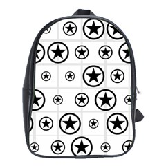 Army Stars School Bags (xl)  by linceazul