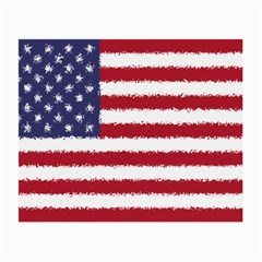Flag Of The United States America Small Glasses Cloth (2 Side) by paulaoliveiradesign