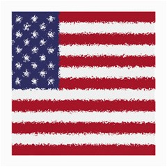 Flag Of The United States America Medium Glasses Cloth by paulaoliveiradesign
