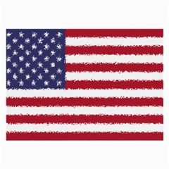 Flag Of The United States America Large Glasses Cloth (2 Side) by paulaoliveiradesign