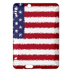 Flag Of The United States America Kindle Fire Hdx Hardshell Case by paulaoliveiradesign