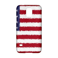 Flag Of The United States America Samsung Galaxy S5 Hardshell Case  by paulaoliveiradesign