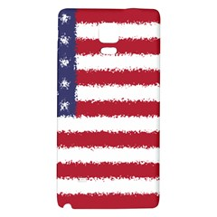 Flag Of The United States America Galaxy Note 4 Back Case by paulaoliveiradesign