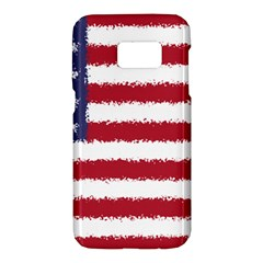 Flag Of The United States America Samsung Galaxy S7 Hardshell Case  by paulaoliveiradesign