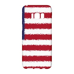 Flag Of The United States America Samsung Galaxy S8 Hardshell Case  by paulaoliveiradesign
