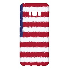 Flag Of The United States America Samsung Galaxy S8 Plus Hardshell Case  by paulaoliveiradesign