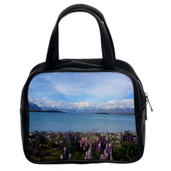 Lake Tekapo New Zealand Landscape Photography Classic Handbags (2 Sides) by paulaoliveiradesign