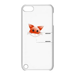 Animal Image Fox Apple Ipod Touch 5 Hardshell Case With Stand by BangZart
