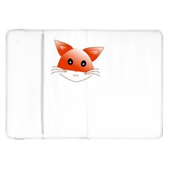 Animal Image Fox Samsung Galaxy Tab 8 9  P7300 Flip Case by BangZart