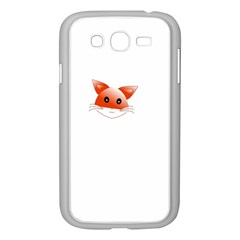 Animal Image Fox Samsung Galaxy Grand Duos I9082 Case (white) by BangZart