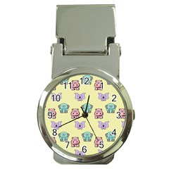 Animals Pastel Children Colorful Money Clip Watches by BangZart