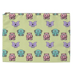 Animals Pastel Children Colorful Cosmetic Bag (xxl)  by BangZart