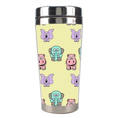 Animals Pastel Children Colorful Stainless Steel Travel Tumblers by BangZart