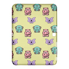 Animals Pastel Children Colorful Samsung Galaxy Tab 4 (10 1 ) Hardshell Case  by BangZart