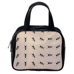 Ants Pattern Classic Handbags (one Side) by BangZart