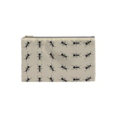 Ants Pattern Cosmetic Bag (small)  by BangZart