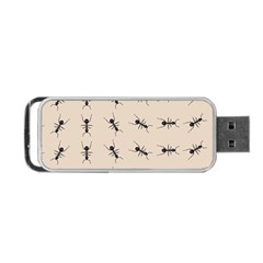 Ants Pattern Portable Usb Flash (one Side) by BangZart