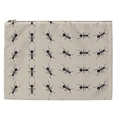 Ants Pattern Cosmetic Bag (xxl)  by BangZart