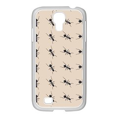 Ants Pattern Samsung Galaxy S4 I9500/ I9505 Case (white) by BangZart