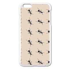Ants Pattern Apple Iphone 6 Plus/6s Plus Enamel White Case by BangZart