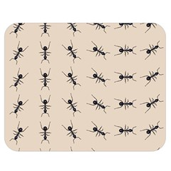 Ants Pattern Double Sided Flano Blanket (medium)  by BangZart