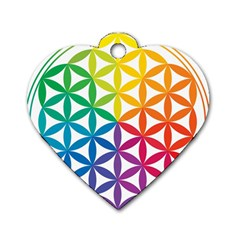 Heart Energy Medicine Dog Tag Heart (two Sides) by BangZart