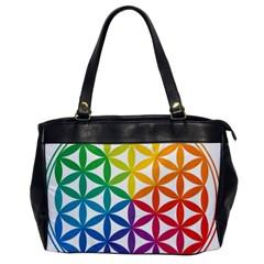 Heart Energy Medicine Office Handbags by BangZart