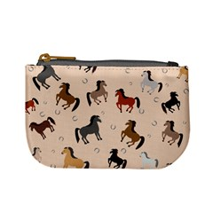 Horses For Courses Pattern Mini Coin Purses by BangZart