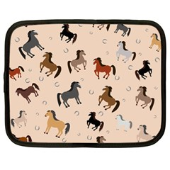 Horses For Courses Pattern Netbook Case (xl)  by BangZart