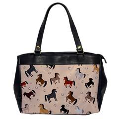 Horses For Courses Pattern Office Handbags by BangZart