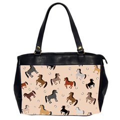 Horses For Courses Pattern Office Handbags (2 Sides)  by BangZart