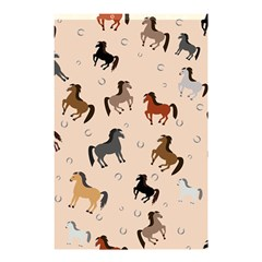 Horses For Courses Pattern Shower Curtain 48  X 72  (small)  by BangZart