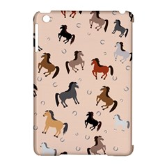 Horses For Courses Pattern Apple Ipad Mini Hardshell Case (compatible With Smart Cover) by BangZart