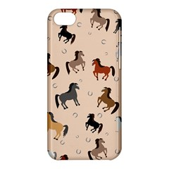 Horses For Courses Pattern Apple Iphone 5c Hardshell Case by BangZart