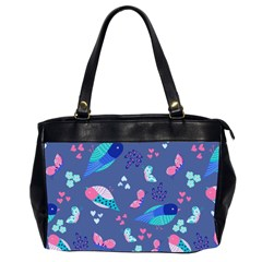 Birds And Butterflies Office Handbags (2 Sides)  by BangZart