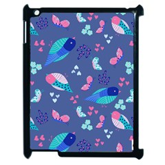 Birds And Butterflies Apple Ipad 2 Case (black) by BangZart