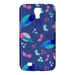 Birds And Butterflies Samsung Galaxy Mega 6 3  I9200 Hardshell Case by BangZart