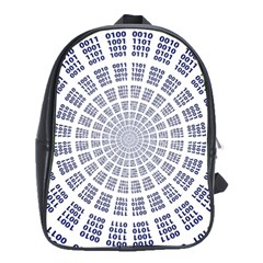 Illustration Binary Null One Figure Abstract School Bags (xl)  by BangZart