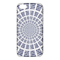 Illustration Binary Null One Figure Abstract Apple Iphone 5c Hardshell Case by BangZart