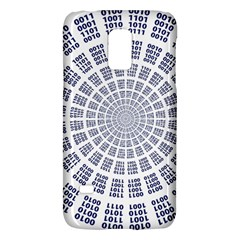 Illustration Binary Null One Figure Abstract Galaxy S5 Mini by BangZart