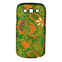 Art Batik The Traditional Fabric Samsung Galaxy S Iii Classic Hardshell Case (pc+silicone) by BangZart