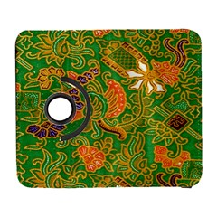 Art Batik The Traditional Fabric Galaxy S3 (flip/folio) by BangZart