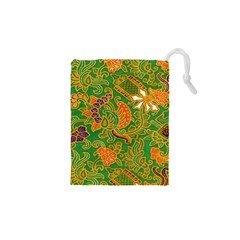 Art Batik The Traditional Fabric Drawstring Pouches (xs)  by BangZart