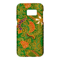 Art Batik The Traditional Fabric Samsung Galaxy S7 Hardshell Case