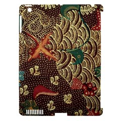 Art Traditional Flower  Batik Pattern Apple Ipad 3/4 Hardshell Case (compatible With Smart Cover) by BangZart